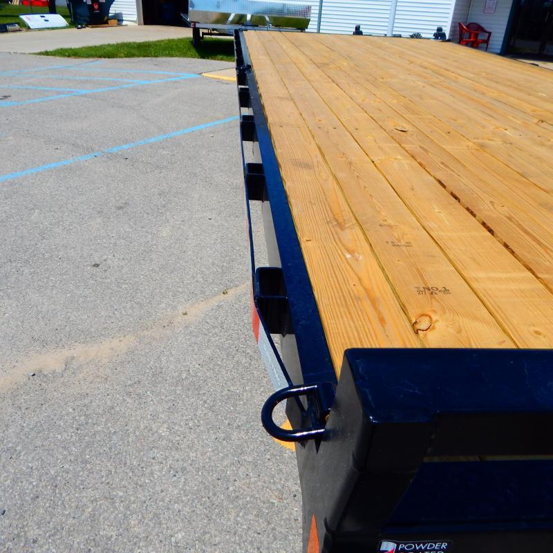2021 Sure-Trac 8.5 x 20 Standard Duty Flat Deck Deckove