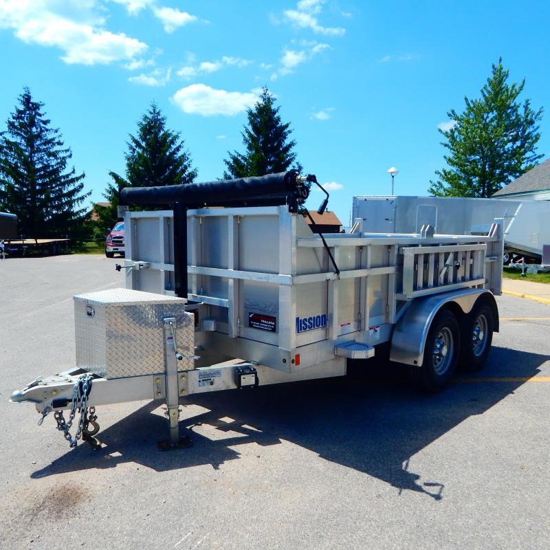2021 Mission 6x10 6k Telescopic Dump Trailer