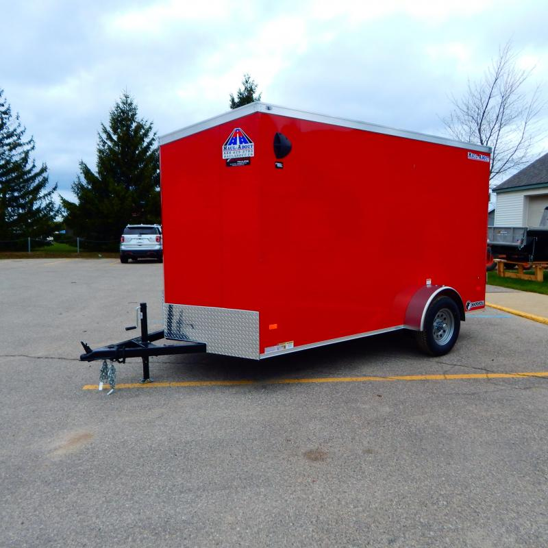 2021 Haul-About 6x12 3k Enclosed Cargo Trailer