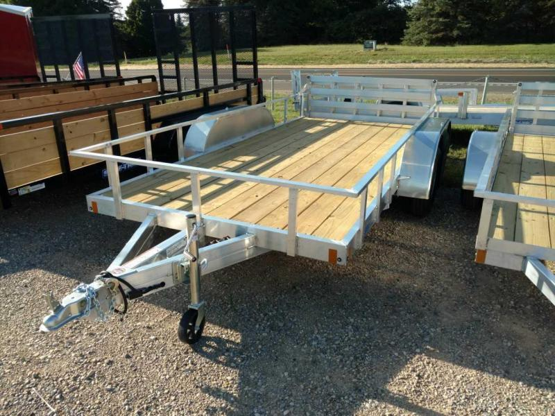 2021 Mission 6.5x14 6k Tube Top Utility Trailer