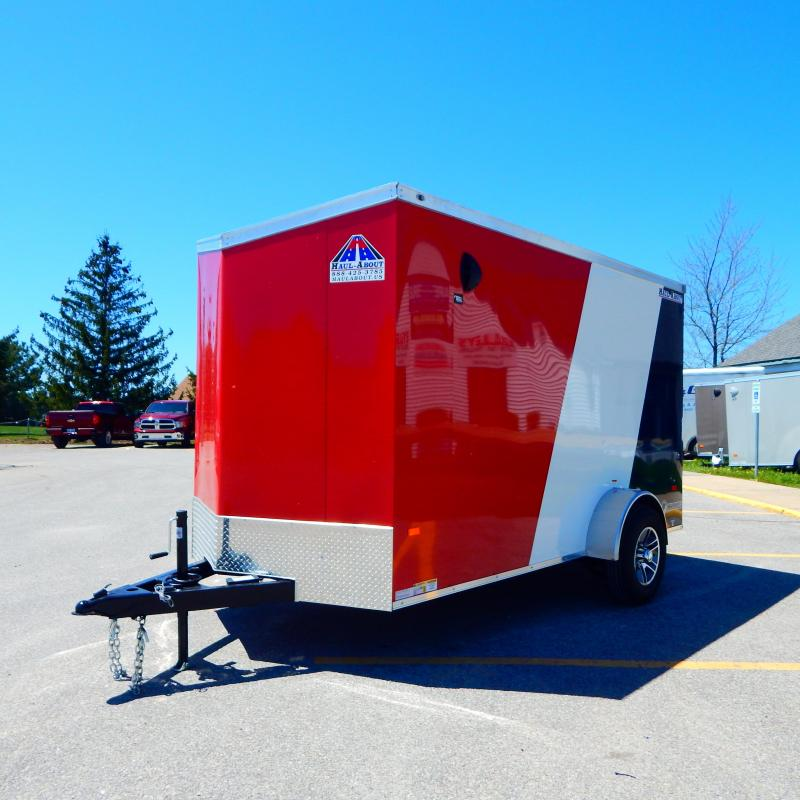 2020 Haul-About 6x12 5k Patriot/Cougar Enclosed Cargo Trailer