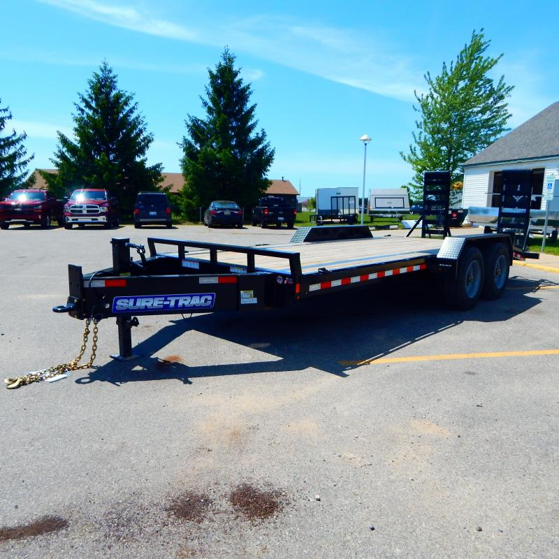 2020 Sure-Trac 7x20 20k Implement Equipment Trailer