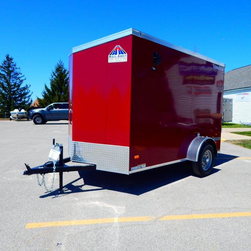 2020 Haul-About 6x10 3k Cougar Enclosed Cargo Trailer