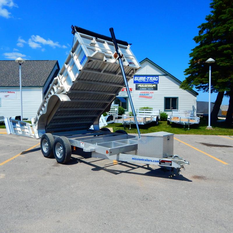2020 Mission 6x12 10k Telescopic Dump Trailer