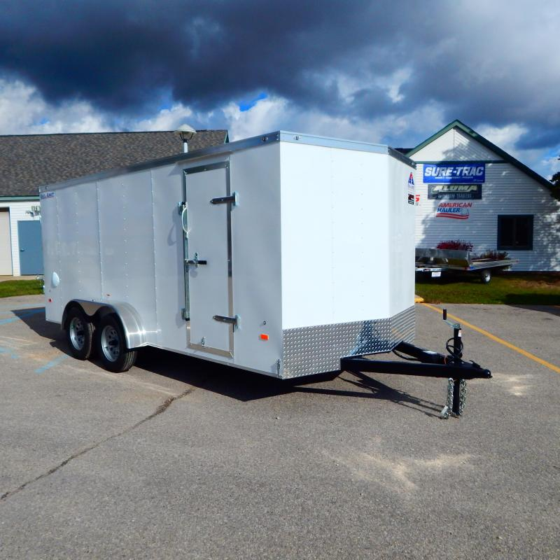 2021 Haul-About 7x16 7k Bobcat Enclosed Cargo Trailer