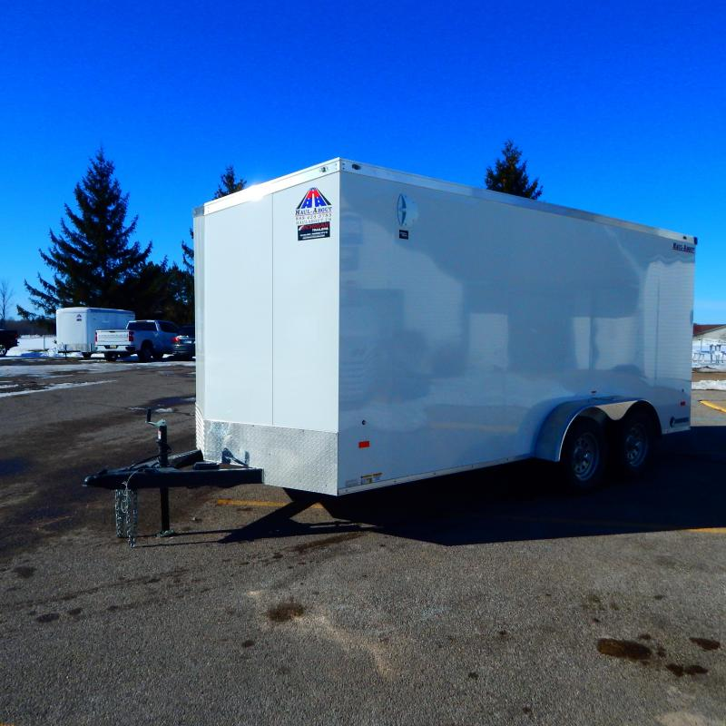 2021 Haul-About 7x16 7k Cougar Enclosed Cargo Trailer