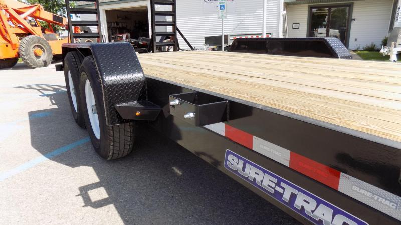 2019 Sure-Trac 7x22 implement 16k Equipment Trailer
