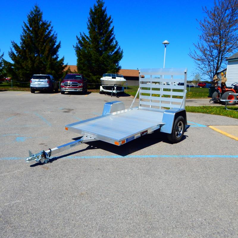 2021 Mission 5x8 2.2k Lowside Enclosed Cargo Trailer