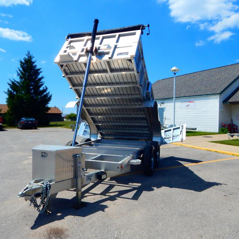 2021 Mission 6x12 10k Telescopic Dump Trailer