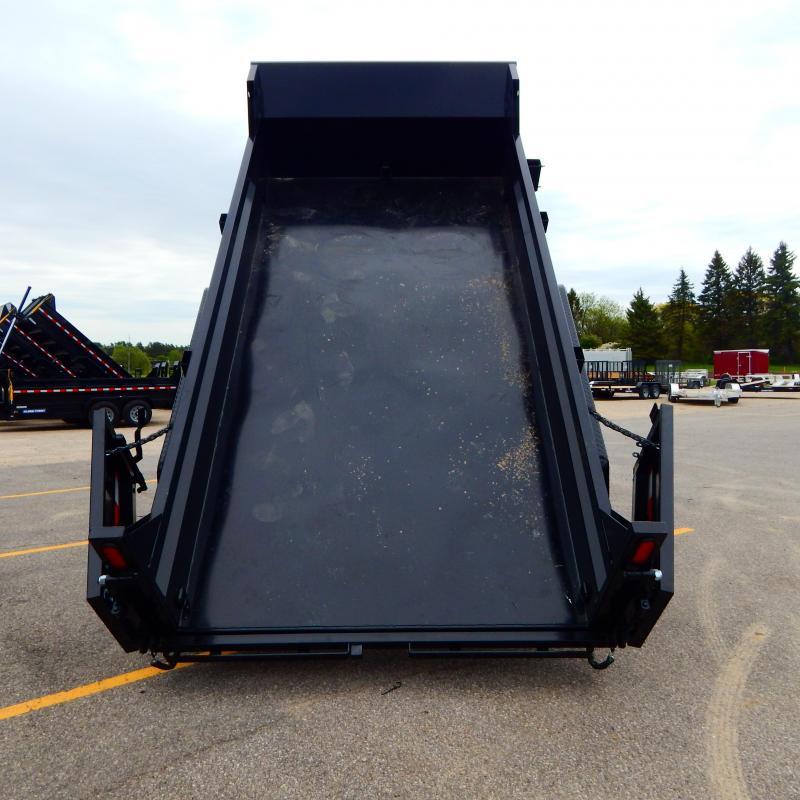 2021 Sure-Trac 6 x 10 SD Low Profile Dump Trailer  10K
