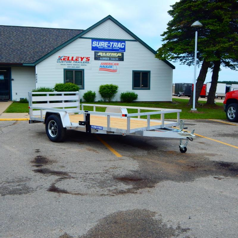 2021 Sure-Trac 6x12 3k Tube Top Utility Trailer