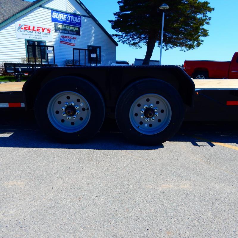 2021 Sure-Trac 7x18+4 16k Tilt Equipment Trailer