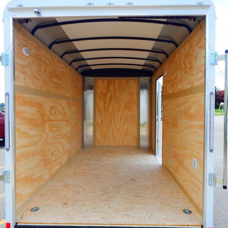 2021 Haul-About 6x12 3k Lynx Enclosed Cargo Trailer
