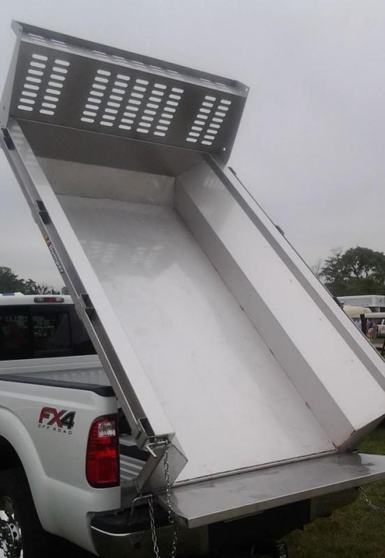 2020 EZ Dumper LLC 8' Stainless Steel Truck Bed