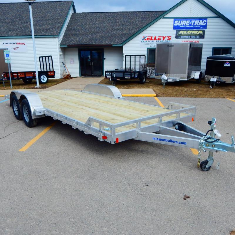2021 Mission 7x16 7k Car / Racing Trailer