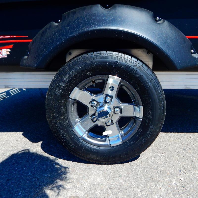 2021 Floe 5x8 2.2k Cargo Max Aluminum Wheels Utility Trailer