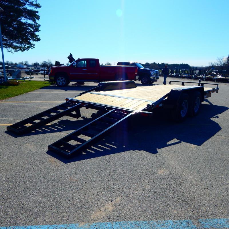 2021 Sure-Trac 7 x 18 (16+2) Equipment Trailer  10K