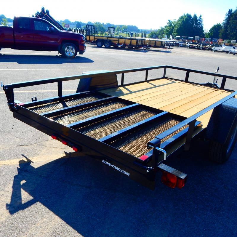 2021 Sure-Trac 6 x 12 Angle Iron Utility Trailer  3K Id