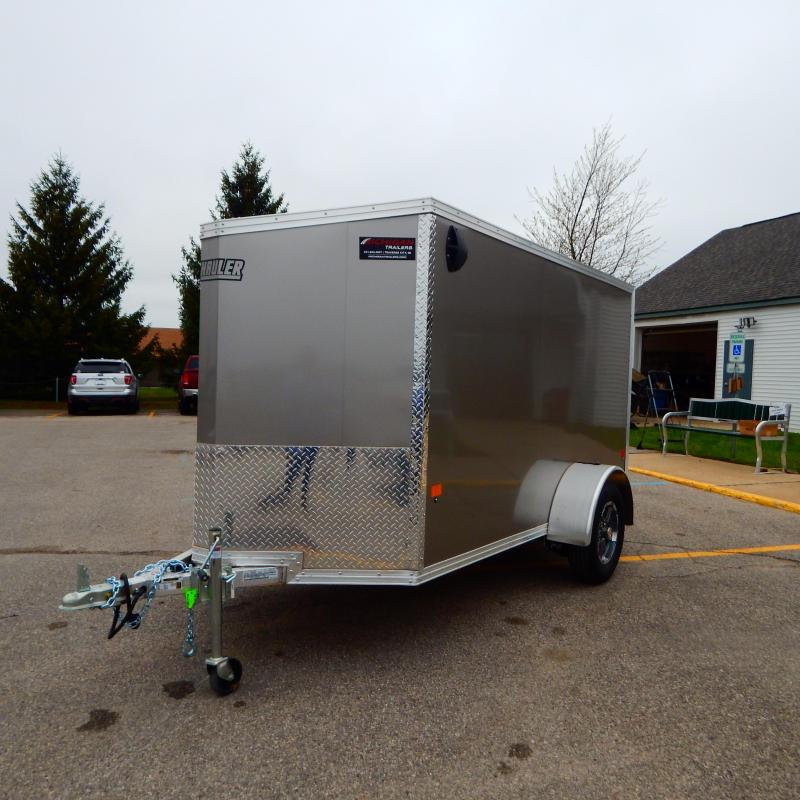 2021 EZ Hauler 5x10 3k Enclosed Cargo Trailer