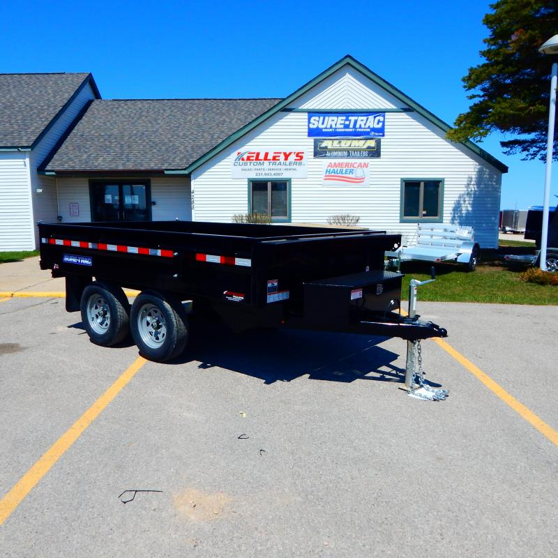 2022 Sure-Trac 6x10 7k Deck Over Dump Trailer