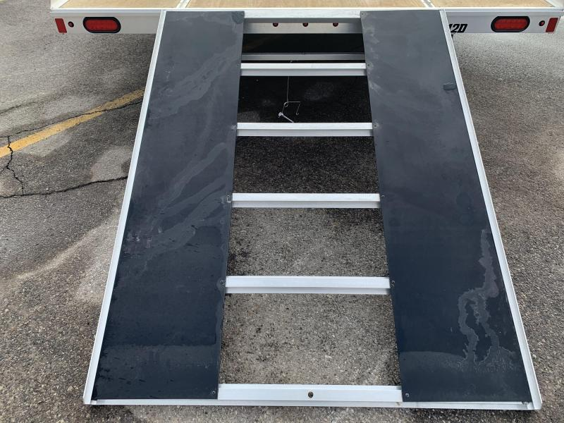 2020 Aluma 8.5x12 2.2k Snowmobile Trailer