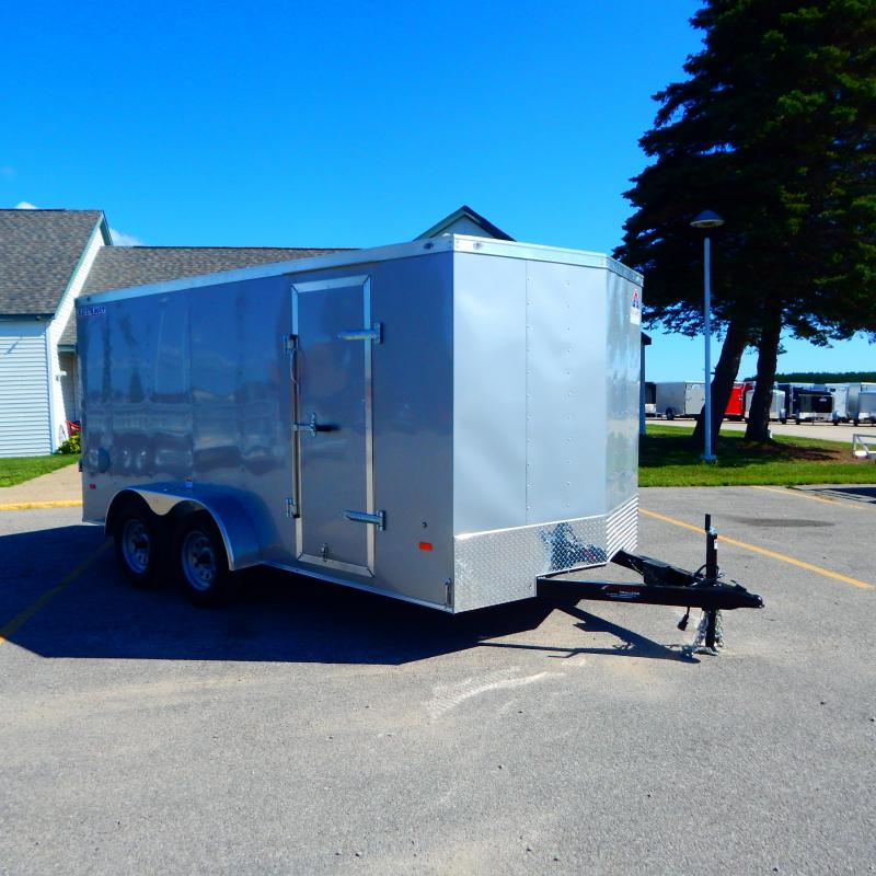 2020 Haul-About 7x16 7k Bobcat Enclosed Cargo Trailer