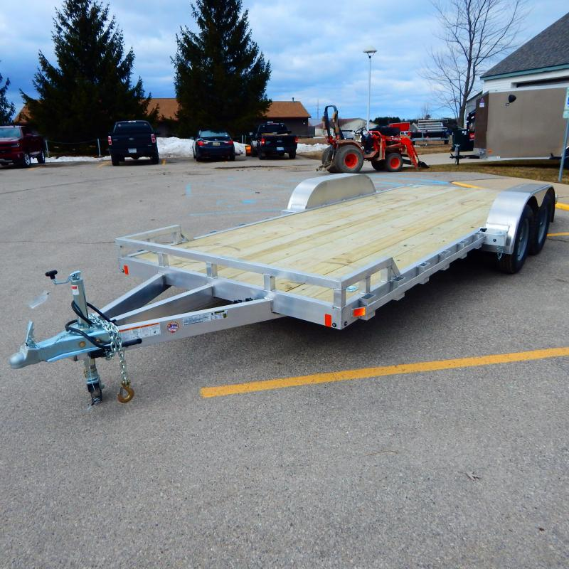 2021 Mission 7x18 7k Car Hauler Car / Racing Trailer