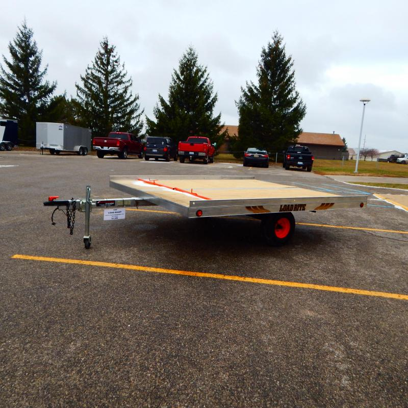 1996 Load Rite 8.5x10 2 Place Snowmobile Trailer