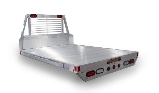 "2021 Aluma 5'8x7'3"" Compact Truck Long Box Truck Bed"