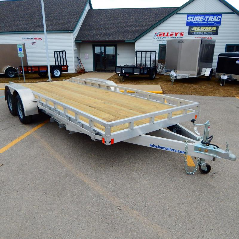 2020 Mission 6.5x18 7k Implement  Equipment Trailer