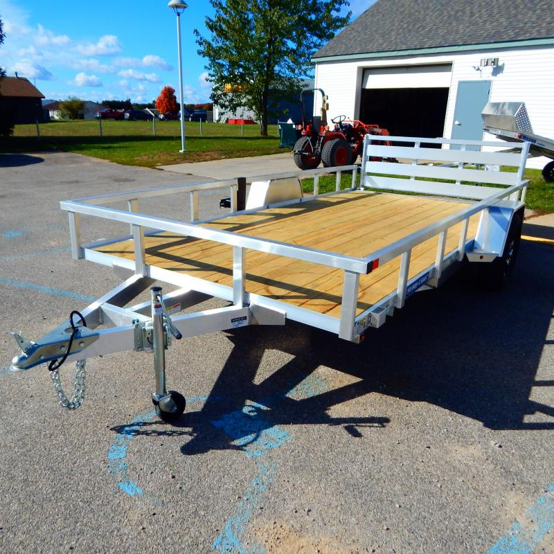2021 Sure-Trac 7X14 3K ALUMINUM TUBE TOP Utility Trailer