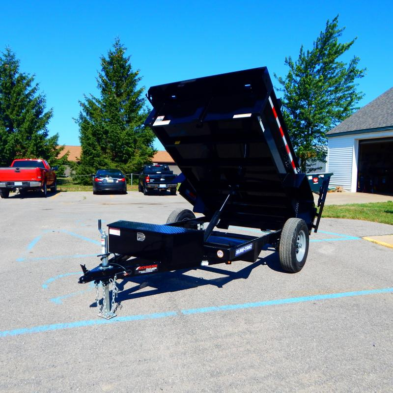 2021 Sure-Trac 5 x 8 Low Profile Homeowner Dump Trailer