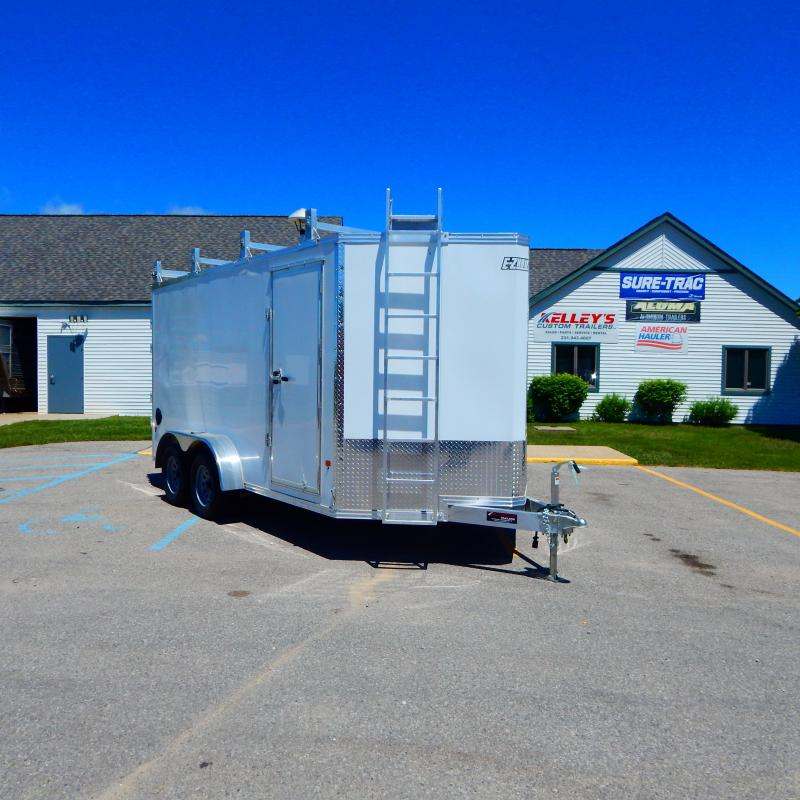 2020 Mission 7x14 7k Ultimate Contractor Enclosed Cargo Trailer
