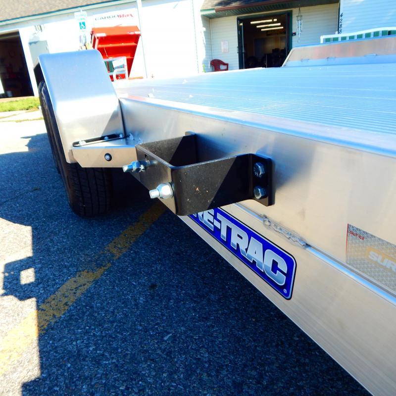 2022 Sure-Trac 7x18 7k Aluminum Car / Racing Trailer
