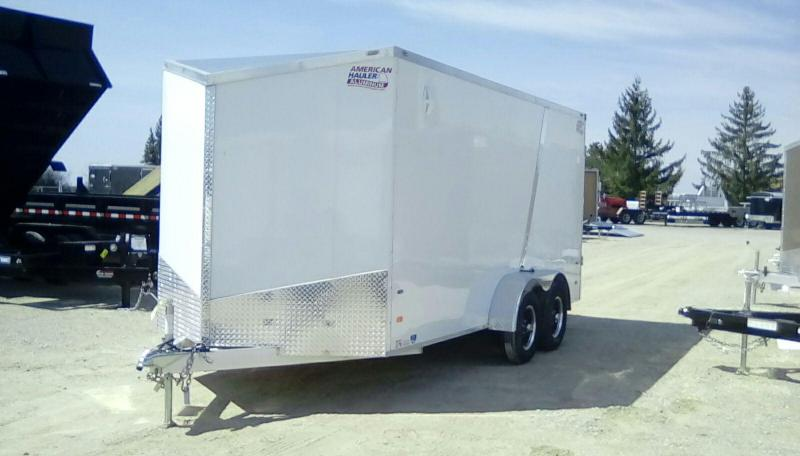 2019 American Hauler Industries 7X16 7K Night Hawk Enclosed Cargo Trailer