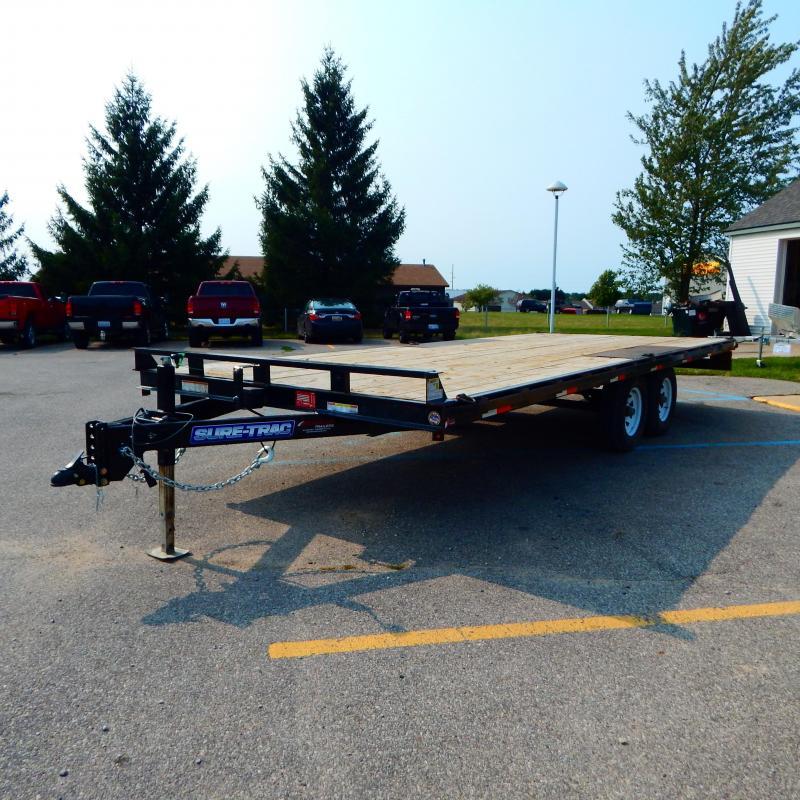 2018 Sure-Trac 8.5x20 10k Deckover Equipment Trailer