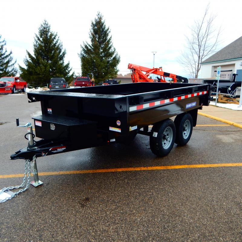 2022 Sure-Trac 6 X 10 SD Deckover Dump Trailer  10K Sin