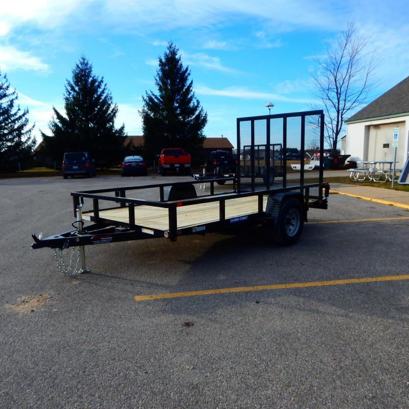 2021 Sure-Trac 7 x 12 Tube Top Utility Trailer  5K Brak