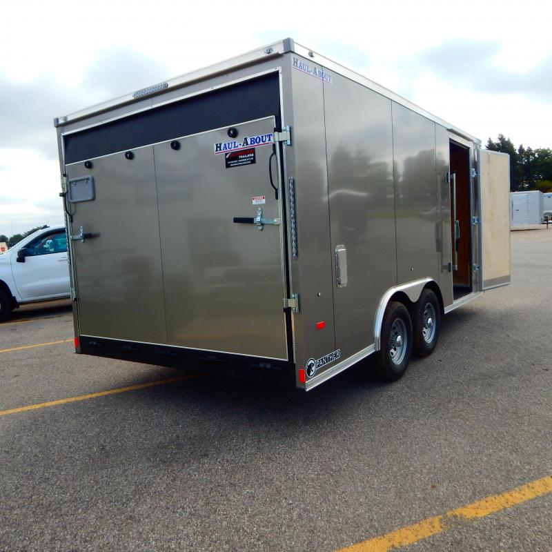 2022 Haul-About 8.5x16 10k Panther Enclosed Cargo Trailer