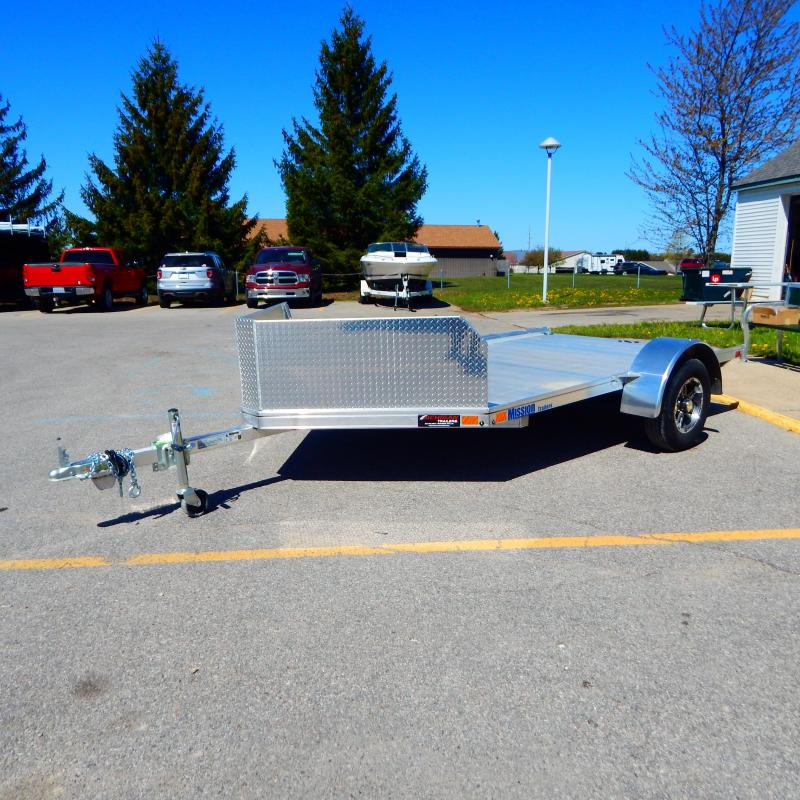 2021 Mission 6.5x10 3k 2 Place Motorcycle Trailer