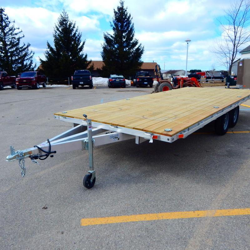 2021 Mission 8.5x16 6k Deck Over Equipment Trailer