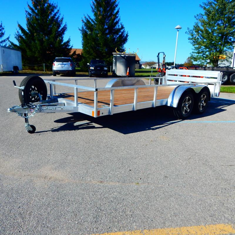 2021 Stealth Trailers 6.5x16 7k Tube Top Utility Trailer