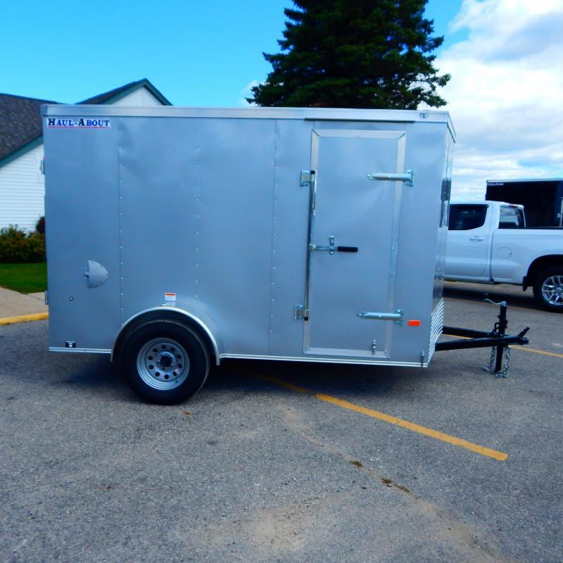 2020 Haul-About 6x10 3k Bobcat Enclosed Cargo Trailer