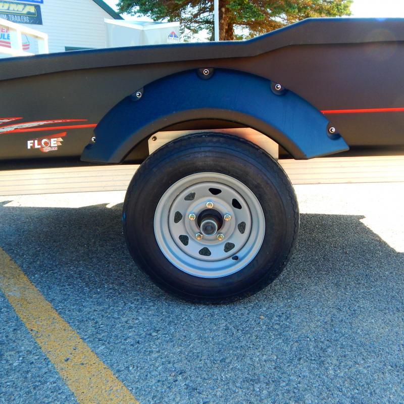 2021 Floe 5x8 2.2k Cargo Max Steel Wheel Utility Trailer