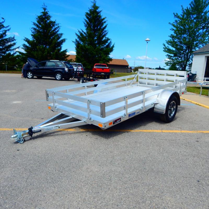 2021 Miramar 6x12 3k Lowside Slat Rail Utility Trailer