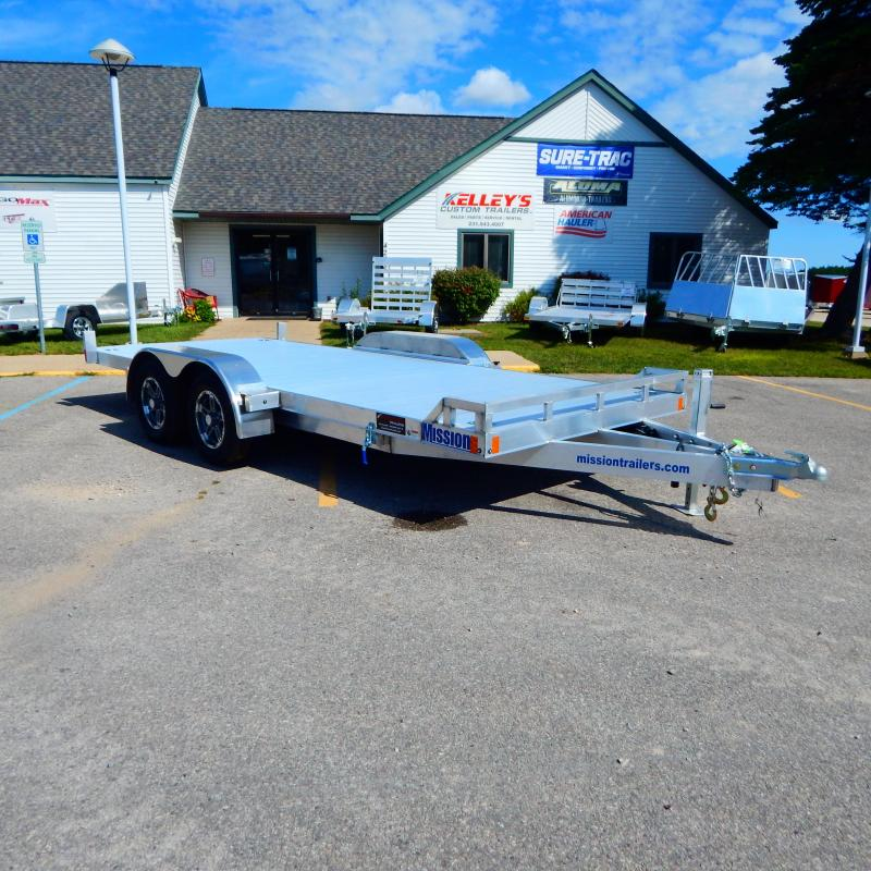 2021 Mission 7x18 7k Tilt Car / Racing Trailer