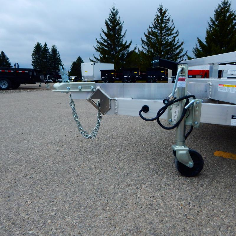 2022 Sure-Trac 7 X 12 Aluminum Low Side Utility  3K