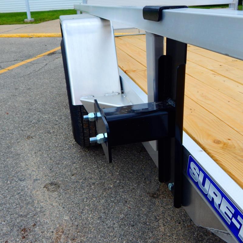 2021 Sure-Trac 6 X 10 Aluminum Tube Top Utility  3K Idl