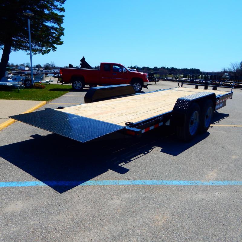 2020 Sure-Trac 7 x 18 + 4 Tilt Bed Equipment  16K