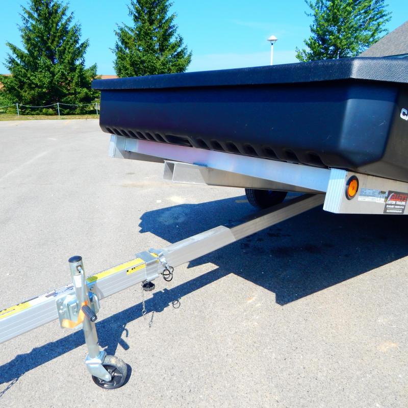 2021 Floe 6x11 3k Cargo Max Aluminum Wheels Utility Trailer